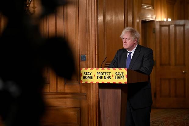 Ilmuwan Pertanyakan Pernyataan PM Inggris Soal Covid-19 Jenis Baru