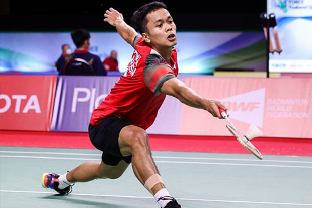 Anthony Ginting, Wakil Indonesia Tereliminasi di BWF World Tour Finals 2020