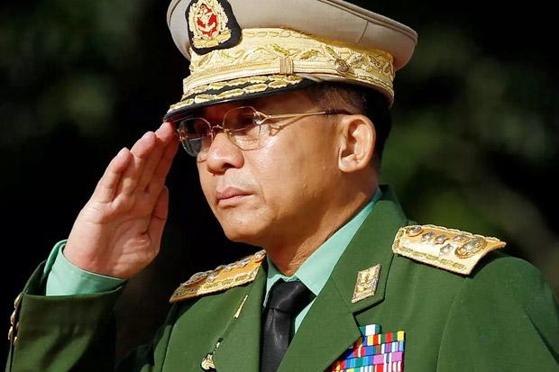 Jenderal Min Aung Hlaing: Membantai Rohingya, Mengkudeta Aung San Suu Kyi