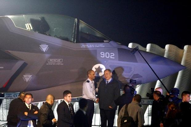 Markas Jet Siluman F-35 Israel Diserbu Pengendara Mobil Berkecepatan Tinggi