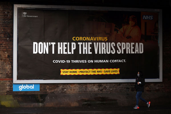 Inggris Dikhawatirkan Jadi Tempat Berkumpul Mutasi Covid-19