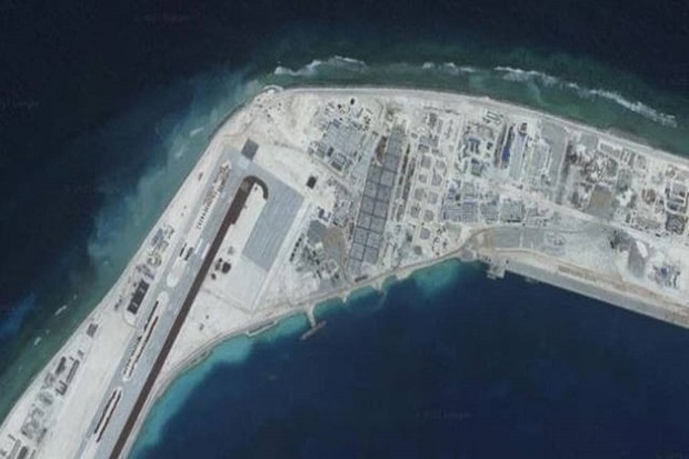 China Bangun Pangkalan Militer Besar-besaran di Laut China Selatan