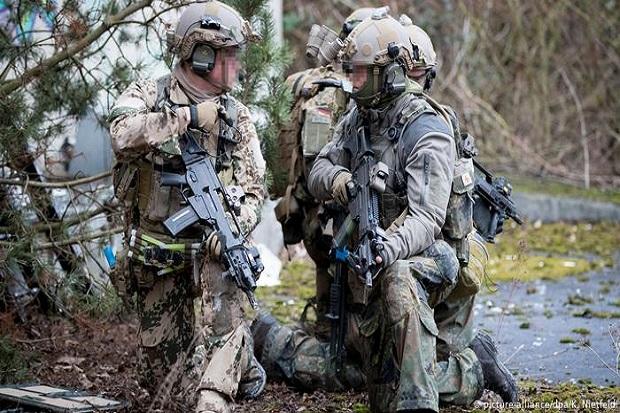 Pasukan Khusus Jerman Disangka Teroris Selama Latihan di AS