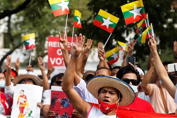 Sekjen PBB Desak Militer Myanmar Hentikan Tindakan Keras pada Demonstran