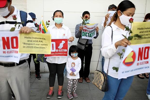 Soal Demonstrasi di KBRI Yangon, Kemlu: Itu karena Pemberitaan yang Salah