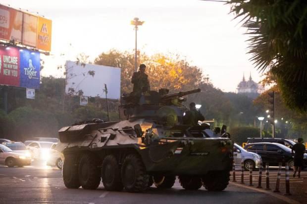 Negara-negara Barat Tingkatkan Tekanan pada Junta Myanmar