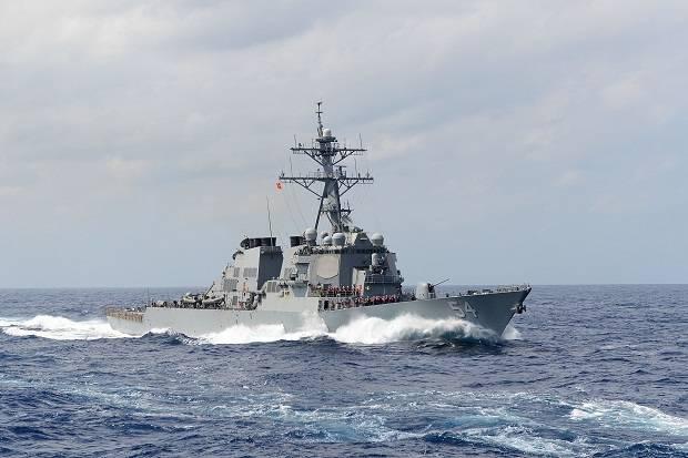 Keluyuran di Selat Taiwan, Kapal Perang Berpeluru Kendali AS Diintai China