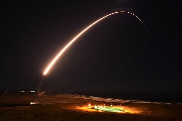 AS Tembakkan Rudal Balistik Antarbenua Minuteman III yang Bisa Bawa Nuklir