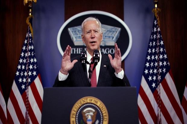 Atas Perintah Biden, AS Serang Suriah dengan Target Milisi Pro-Iran