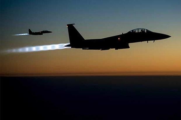 Rusia Diberitahu Hanya 5 Menit sebelum 2 F-15 AS Merudal Suriah