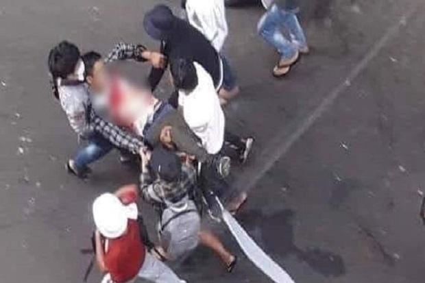 Junta Tembak Mati 18 Demonstran, Media Myanmar Salahkan Pendemo
