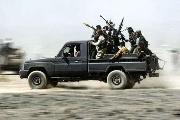 AS Jatuhkan Sanksi kepada Dua Komandan Houthi