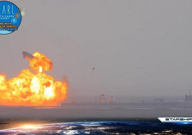 Roket Starship SpaceX Berhasil Mendarat, Delapan M