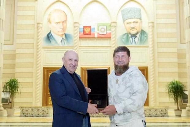 Posting Foto dengan Koki Putin, Pemimpin Chechnya Minta Hadiah ke FBI