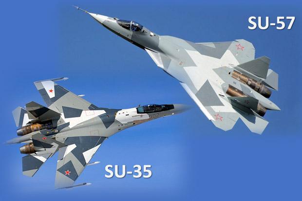 Lengkapi S-400, Rusia Tawarkan Su-35 dan Su-57 ke Turki