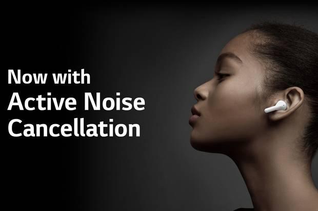 LG Tone Free NBS-FN7 Diperkaya ANC dan UV Nano Pengusir Bakteri