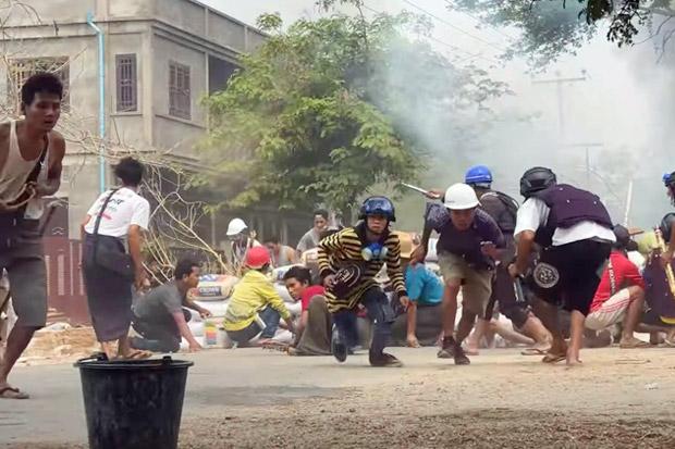 Kudeta Myanmar: 320 Tewas, 20 Lebih Diantaranya Anak-anak