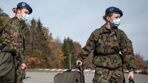 Tentara Wanita Swiss Tak Lagi Pakai Baju Dalam Pria, Seperti Sebelumnya