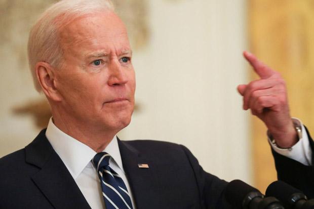 Bersitegang dengan Rusia, Biden Tawarkan Dukungan kepada Ukraina