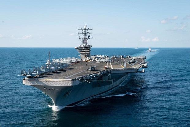 Kapal Induk Eisenhower AS Bergerak Memasuki Timur Tengah, Ada Apa?