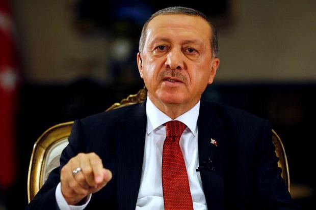 Erdogan Tuduh 104 Pensiunan Laksamana Turki Ingin Menggulingkannya