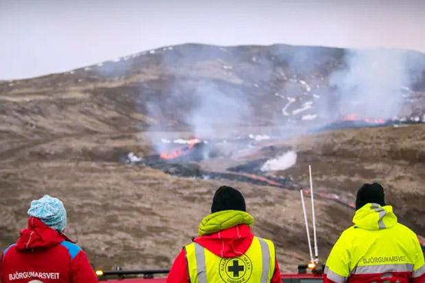 Gunung Berapi Reykjavik Muntahkan Lahar, Islandia Evakuasi Ribuan Turis