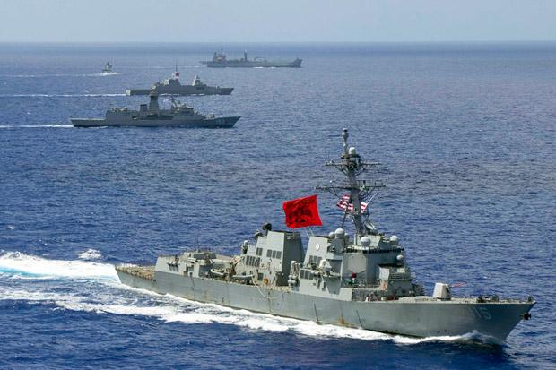 Masih Misteri, Obyek Pengganggu Kapal Perang AS di California