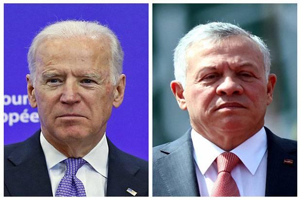 Telepon Raja Yordania, Biden Tegaskan Dukungan AS pada Solusi Dua Negara