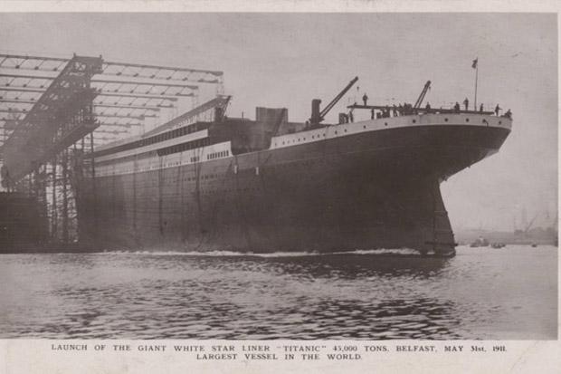 Dilelang, Kartu Pos Operator Nirkabel Titanic Dibanderol Rp218 Juta