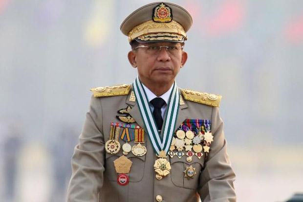 Militer Myanmar Bantah Lakukan Kudeta