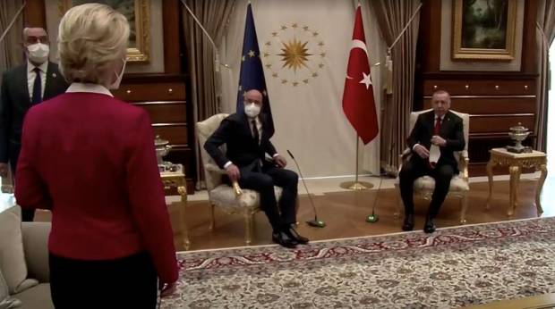 Presiden Dewan Eropa Michel Sulit Tidur setelah Insiden Sofa di Turki