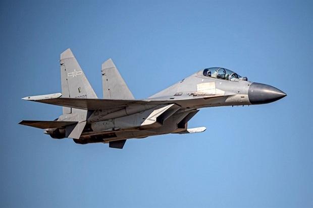 Gerombolan 25 Pesawat Militer China Serbu ADIZ Taiwan