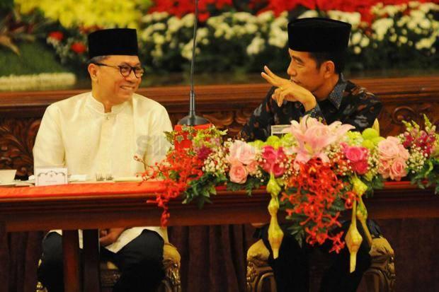 Reshuffle Kabinet, Isu PAN Bakal Masuk Koalisi Jokowi Menguat