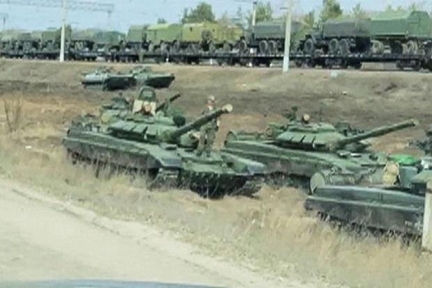Ukraina Ketir-ketir dengan 110.000 Tentara dan Senjata Nuklir Rusia