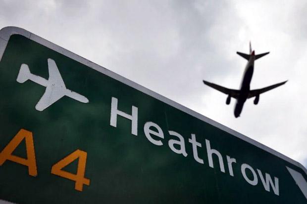 Tak Ada Pesawat Mendarat atau Lepas Landas di Bandara Heathrow