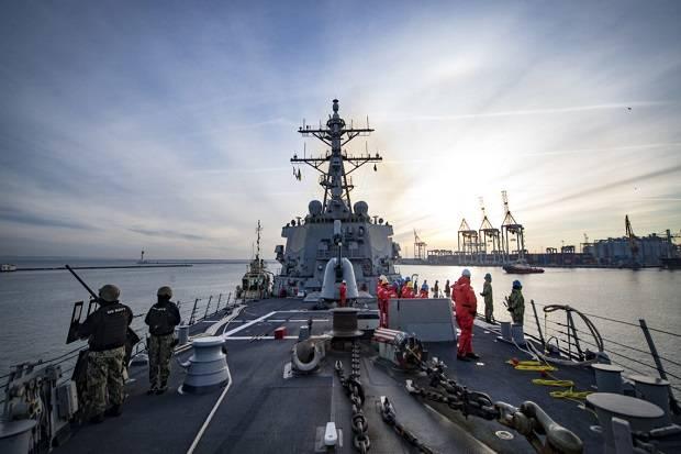 Kapal Perang AS Batal ke Laut Hitam usai Diperinga