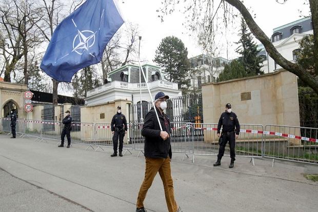 18 Diplomatnya Diusir, Rusia Balas Usir 20 Diplomat Ceko