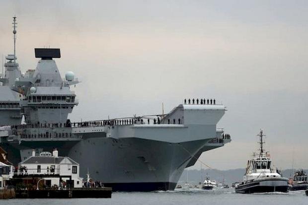 Hadapi Rusia, Inggris Bela Ukraina dengan 2 Kapal