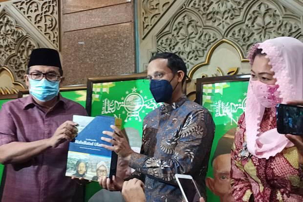 Bertandang ke PBNU, Begini Pembicaraan Nadiem soal Kamus Sejarah Indonesia