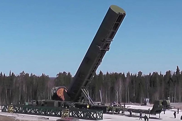 2022, Rusia Bakal Punya Resimen Tempur Rudal ICBM Sarmat