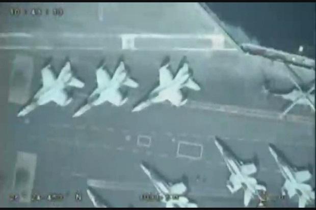 Iranian Drone Bands Approach dan Catat Operator AS di Teluk
