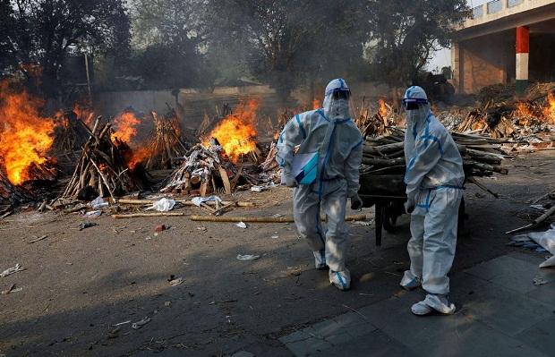 Tsunami COVID-19 Memburuk, India Kirim Tentara untuk Bantu Rumah Sakit