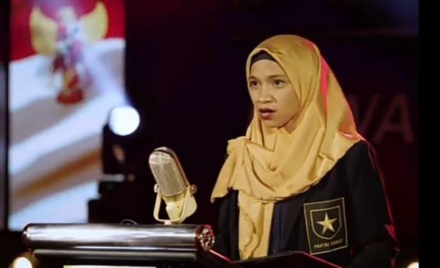 Deklarasi Partai Ummat, Tasniem Rais Bacakan Teks Pancasila