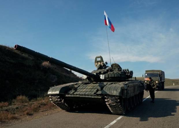 Militer Rusia di Armenia Perkuat Daerah Dekat Perbatasan Azerbaijan