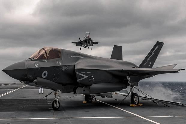 Jet Siluman F-35 Inggris Akan Habisi Sisa-sisa ISIS di Irak dan Suriah