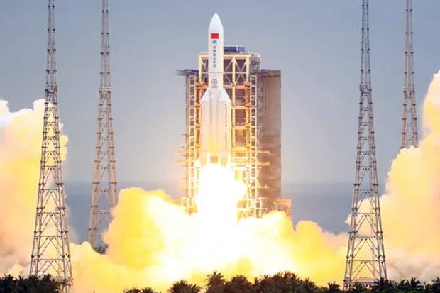 Roket 21 Ton China Jatuh Diluar Kendali ke Bumi, Ditakutkan Jatuh di New York