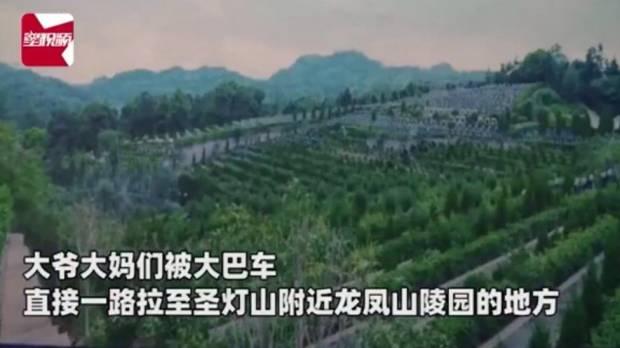 Para Lansia China Beli Tiket Wisata, Malah Dibawa Jalan-jalan ke Kuburan