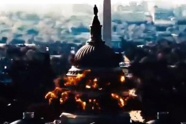 TV Iran Rilis Video Propaganda IRGC Meledakkan Gedung Capitol AS