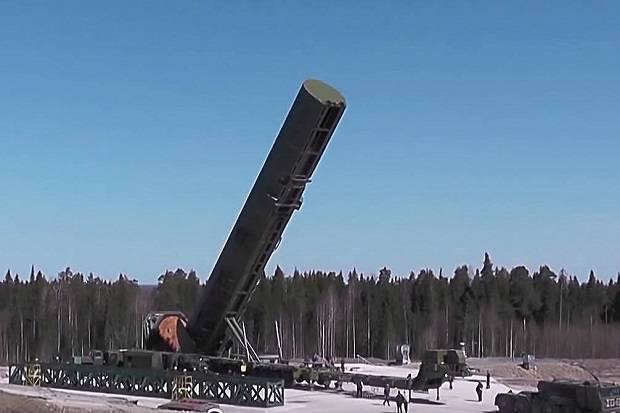 Rusia Akan Uji Peluncuran Rudal Setan 2, Misil yang Bisa Lenyapkan Seluruh Inggris
