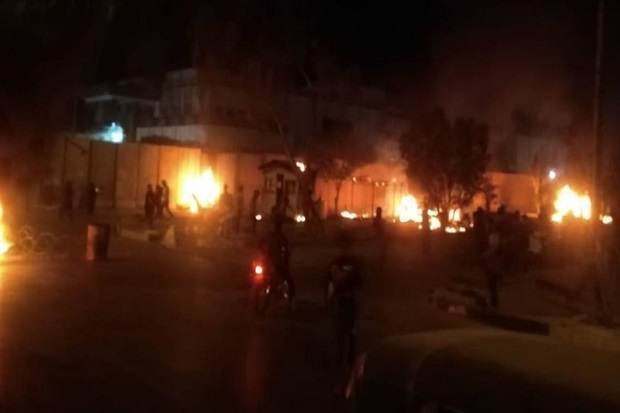 Demonstran Irak Mengamuk dan Coba Bakar Konsulat Iran di Karbala